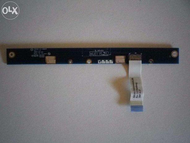 Ligação power painel frontal portátil Toshiba A200