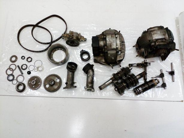 Ducati monster 600 silnik na części , częsci silnikowe