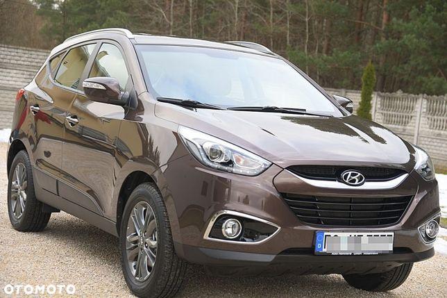 Hyundai ix35 1.6 Benzyna 136M * Niemcy * MAŁY PRZEB * BOGATY NAV KAMERA* JAK NOWY!