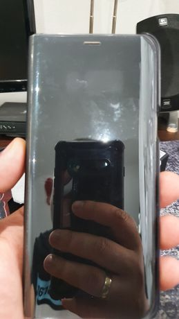 Etui Clear View Cover do Samsung Galaxy S8+ kolor: czarny