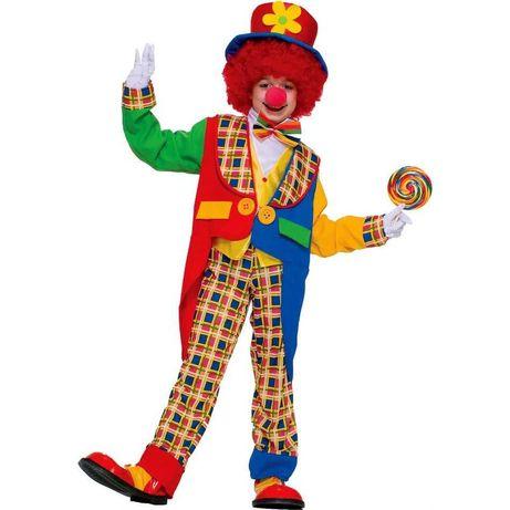 Очень красивый костюм клоуна