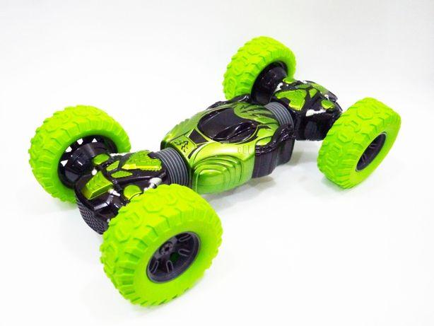 Машинка перевертыш Champions Трансформер вездеход Игрушки (зеленая)