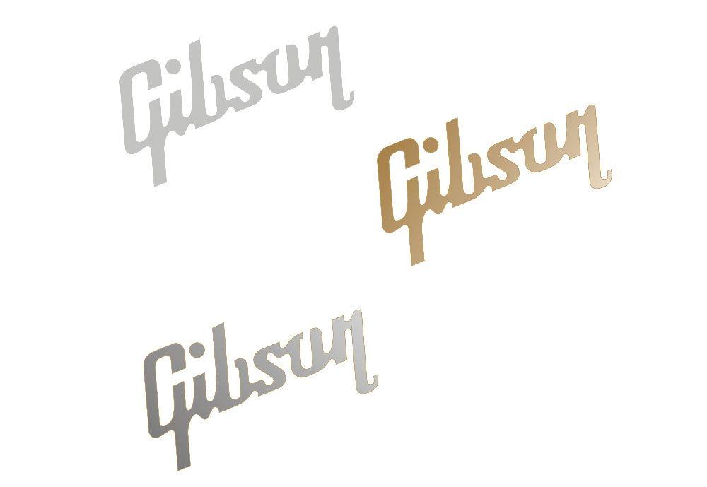 GIBSON 5x2,3cm naklejka na gitarę RÓŻNE KOLORY NR 505