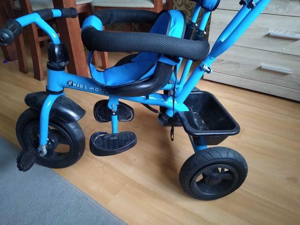 Rowerek dla dziecka z możliwością prowadzenia przez rodzica