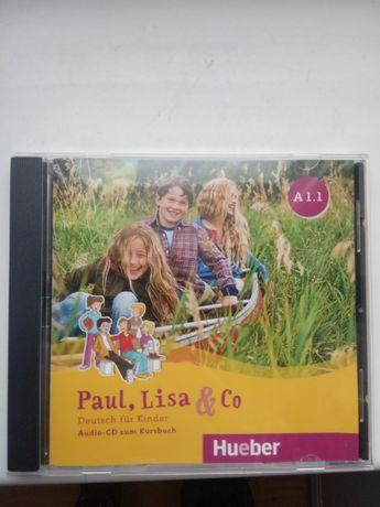 Продам CD-диск немецкий для детей Paul, Liza &Co A.1.1