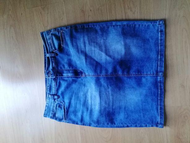 Spódnica jeansowa 42/44