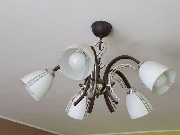 Sprzedam lampę 5 pkt do salonu