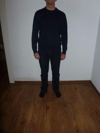 Sweter Męski Pierre Cardin M granatowy