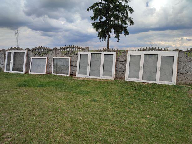 Okna aluminiowe 200 x 130 cm