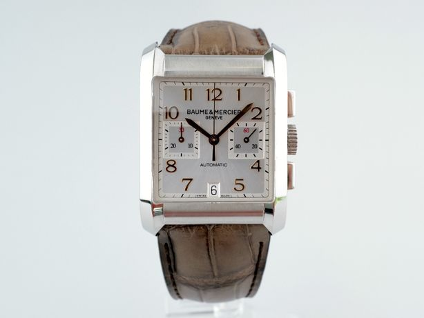 Мужские бу часы Baume & Mercier Hampton Chronograph 34 х 48 мм