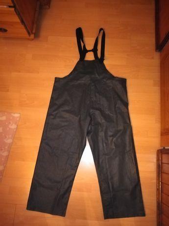 Spodnie żeglarskie HELLY HANSEN XL NOWE gumowe sztormiaki na ryby