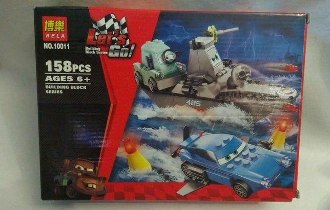 Супер конструкторТачки (Аналог Lego 8426) лего машинки лодка