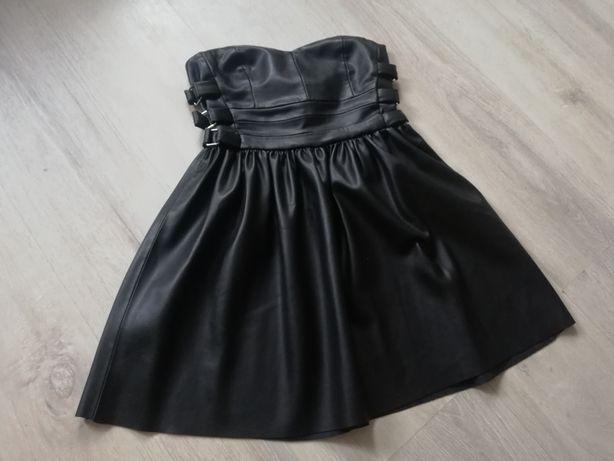 Sukienka skóra Zara