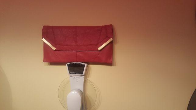 New look kopertówka torebka malinowa