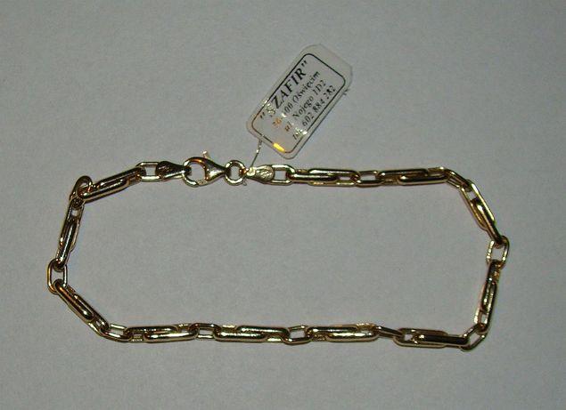 Złota bransoletka 14 karat próby 585-Firma Szafir-Wzór 96