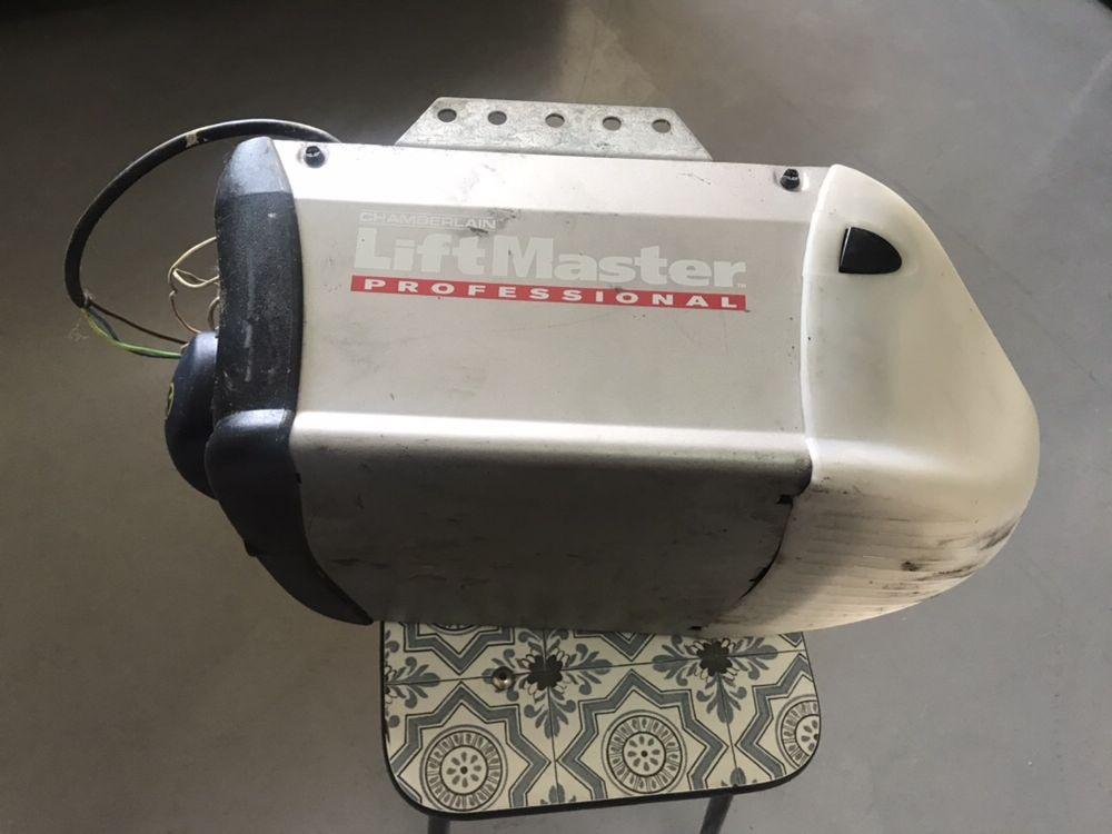 Motor de portão de garagem eléctrico usado