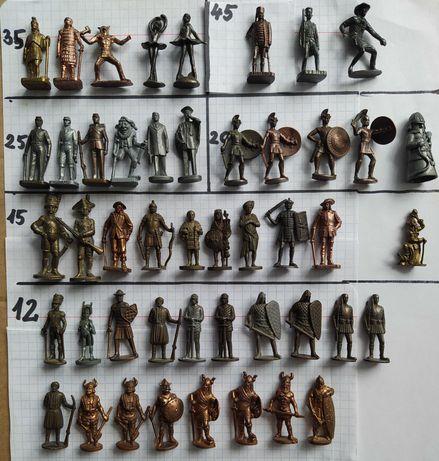 Figurki metalowe - zamienię