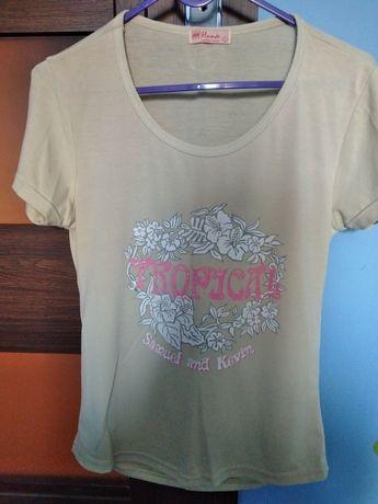 T-shirt damski r. L
