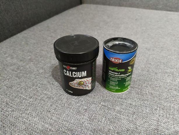 Calcium i witaminy dla gadów