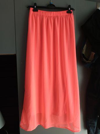 Neonowa spódnica
