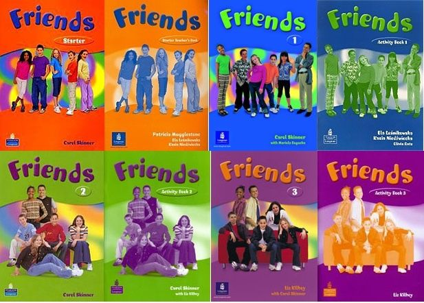 Комплект Friends Starter, 1,2,3 Students+activity book