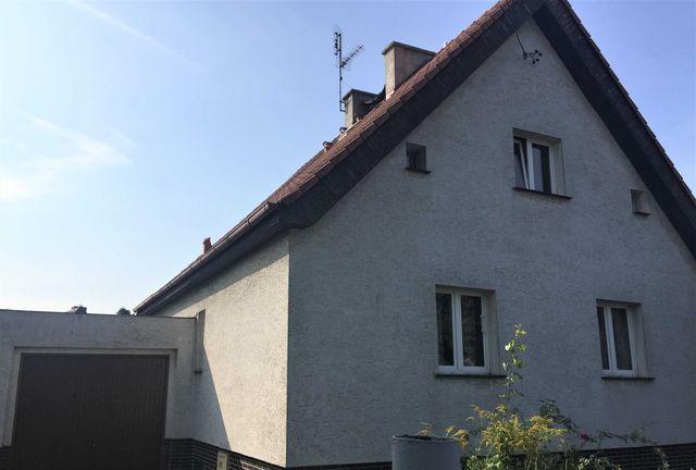Dom wolnostojący, duży garaż -Poznań Świerczewo-idealny pod inwestycję