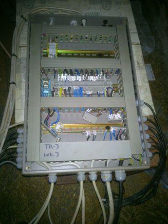 Szafka skrzynka elektryczna sterownicza