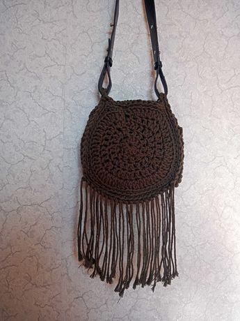 Torebka sznurkowa handmade