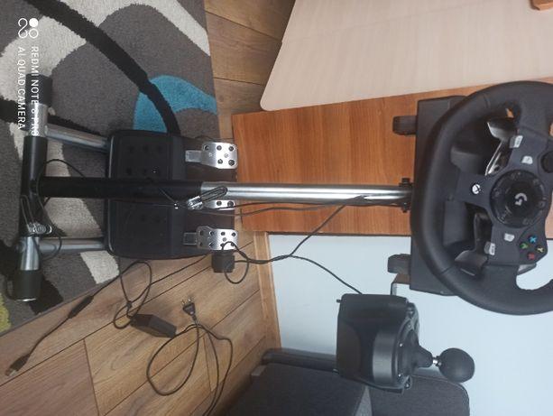 Kierownica logitech g920+stojak