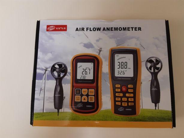 Ветрометр Benetech GM8901 с выносной крыльчаткой и пыле и влагозащищён