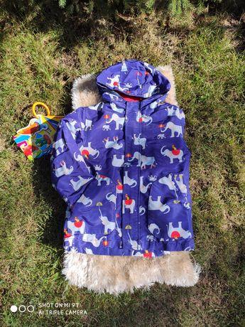 Демисезонная куртка/ дождевик
