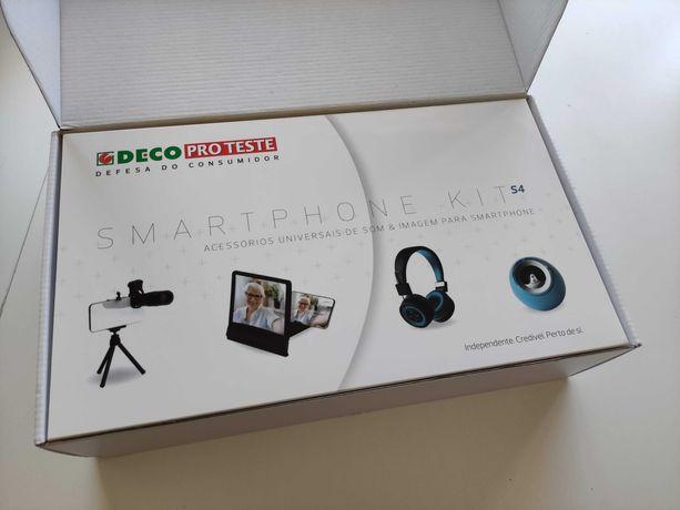 Kit smartphone DECO pro teste