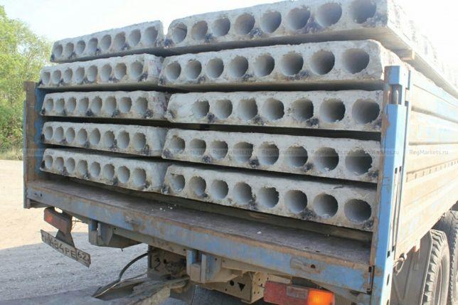 Плиты перекрытия и блоки фундаментные б/у и новые от 50 грн