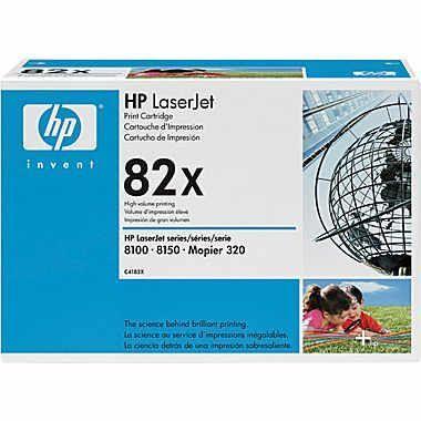 Toner Preto HP LaserJet 82X Original de Alta Capacidade (C4182X)