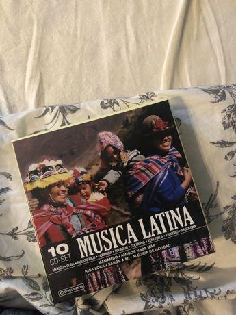 Płyty CD Latino