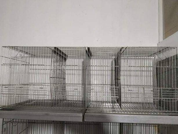 Casotas em rede galvanizada
