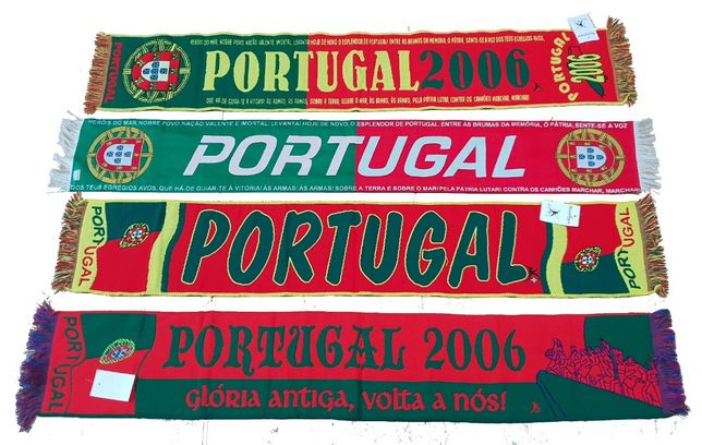Cachecol Portugal, Brasil, Sporting