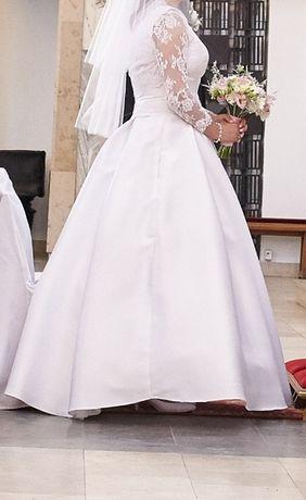 Suknia ślubna rozm. 40, cena do negocjacji