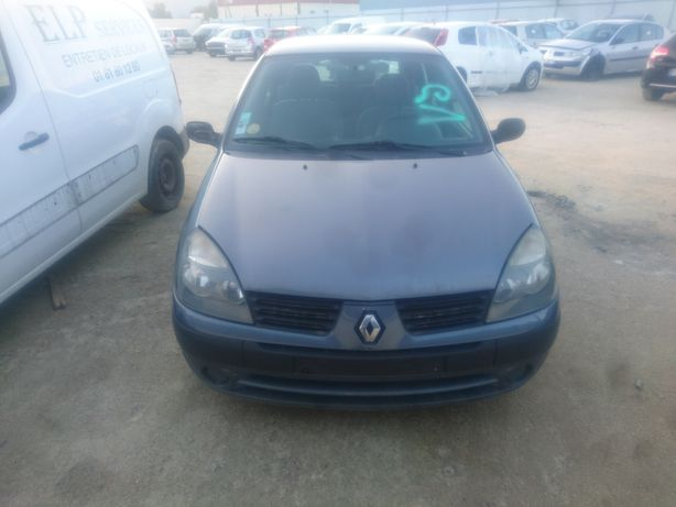 Renault Clio 1.5 Dci, motor 80cv, frente, airbags, caixa