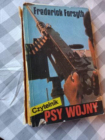 "Książka ""Psy Wojny"" Frederick Forsyth"