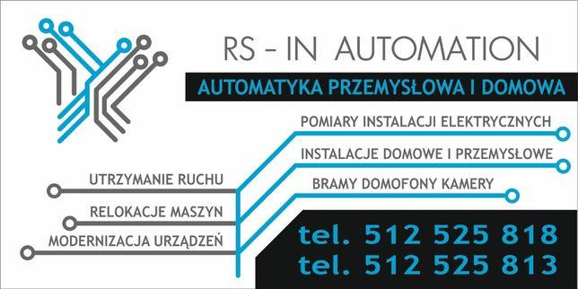 automatyka przemysłowa utrzymanie ruchu 5S , TPM szybka pomoc.