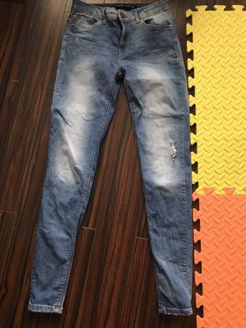Bershka dzinsy jeans rurki slim