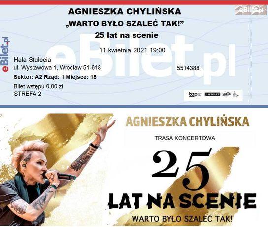 2 bilety Chylińska Wrocław OKAZJA