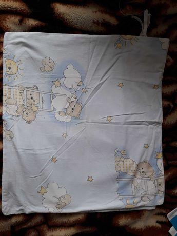 pościel niemowlęca dziecięca poduszka kołderka