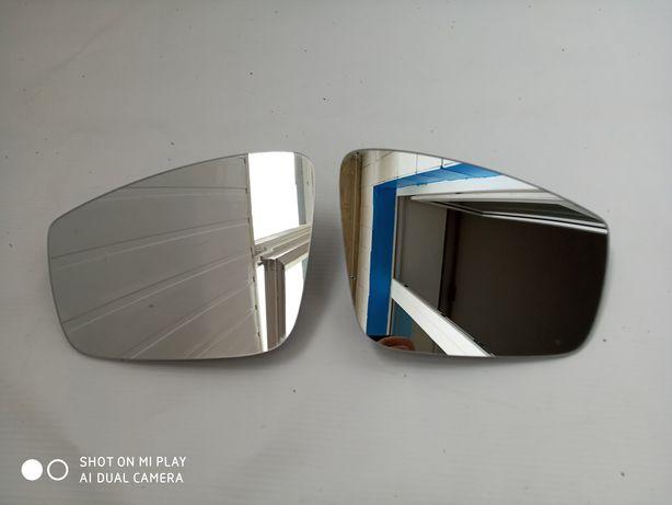 Стекло вкладыш зеркала Skoda Rapid Fabia (с подогревом) Оригинал ! Нов