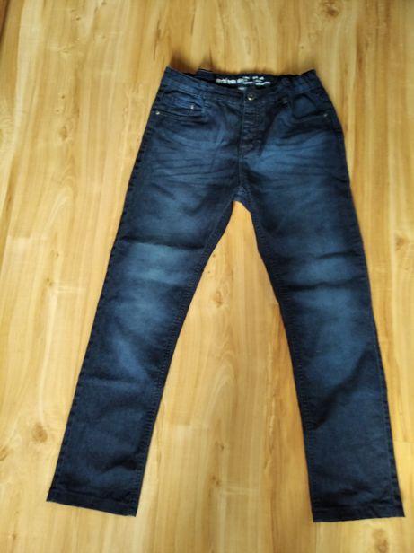 Spodnie dżins cienki ze stretchem, 164 regulacja pasa