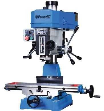 Fresadora/Furadora PBDM32D 31.5mm Furação Powered