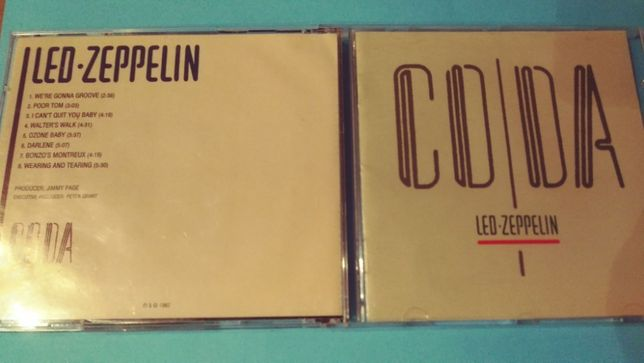 Led Zeppelin ‎– Coda , CD 2001 Russia