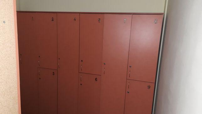 Шкафчики для одежды с замочками/ключиками. 300грн за секцию