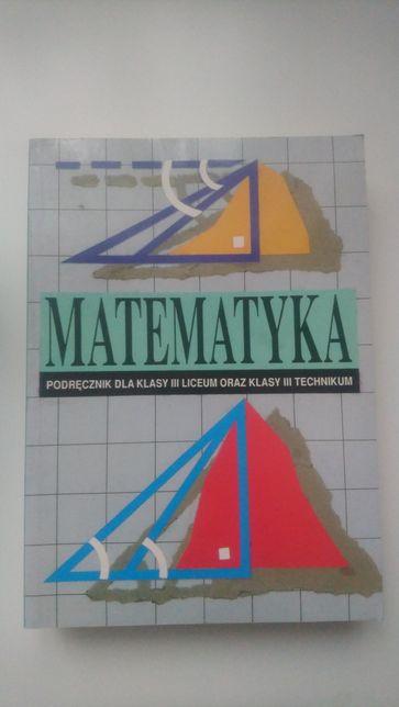 Matematyka kl.3 liceum technikum podrecznik Cegiełka ,Przyjemski